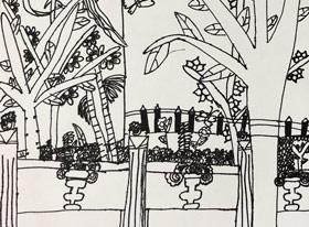 龙华公园写生-儿童画创想A班-2019年5月11日【春季班/高峰店】新起点画苑-学生作品