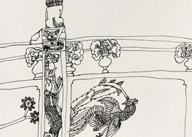 龙胜公园写生-儿童画大师班-2019年5月11日【春季班/高峰店】新起点画苑-学生作品