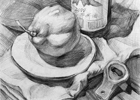 素描提升班-2019年5月10日【春季班/高峰店】新起点画苑-学生作品
