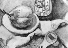 素描A班-2019年5月11日【春季班/高峰店】新起点画苑-学生作品