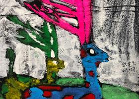 主题绘画班-2019年5月17日【春季班/高峰店】新起点画苑-学生作品