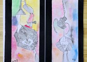 香囊-儿童画基础班-2019年6月15日 ★春季班/新围店★ 新起点画苑-学生作品