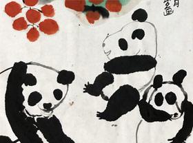 熊猫-国画基础班-2019年6月20日【春季班/高峰店】新起点画苑-学生作品