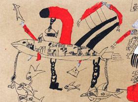 动物创想-儿童画创想A班-2019年6月22日【春季班/高峰店】新起点画苑-学生作品