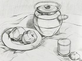 素描提升班-2019年6月21日【春季班/高峰店】新起点画苑-学生作品