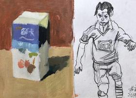 色彩A班-2019年6月29日【春季班/高峰店】新起点画苑-学生作品