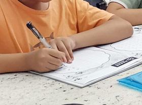 硬笔书法-2019年6月30日 ★春季班/新围店★ 新起点画苑-学生作品