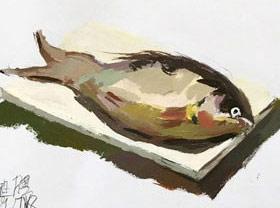 色彩班(上午)-2019年7月18日 ★暑假班/高峰店★ 新起点画苑-学生作品