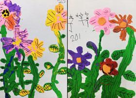 黏土花-儿童画班-2019年7月20日 ◆暑假班/新围店◆ 新起点画苑-学生作品