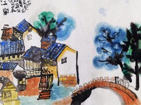 江南-国画班-2019年7月23日 ◆暑假班/新围店◆ 新起点画苑-学生作品