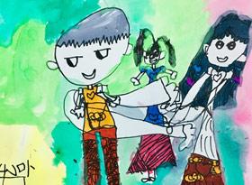 亲情-儿童画班-2019年7月24日 ◆暑假班/新围店◆ 新起点画苑-学生作品