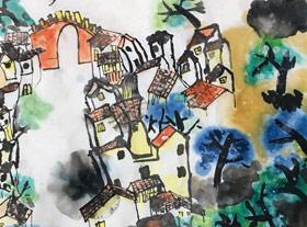 梦江南-国画班-2019年7月25日 ◆暑假班/新围店◆ 新起点画苑-学生作品