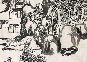 山海经-国画班-2019年7月26日 ★暑假班/高峰店★ 新起点画苑-学生作品