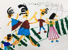 过斑马-儿童画班-2019年7月29日 ◆暑假班/新围店◆ 新起点画苑-学生作品