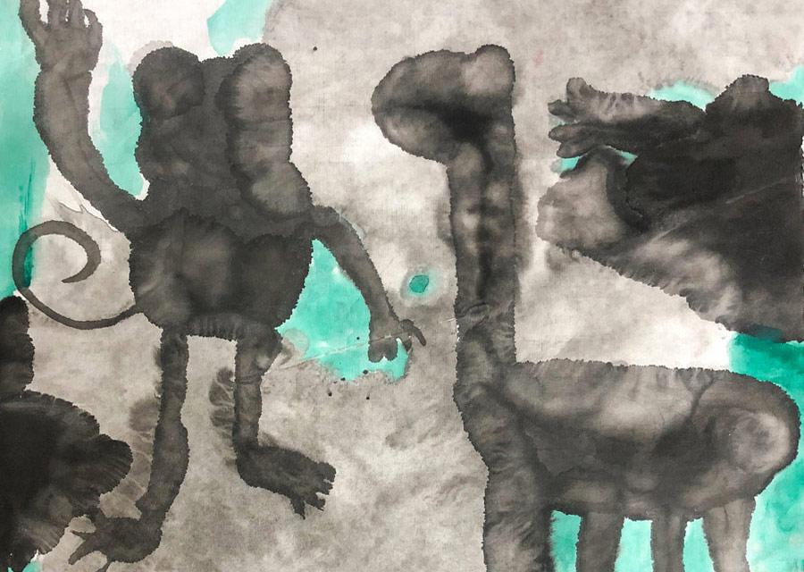 国画基础班-2019年9月5日 ◆秋季班/高峰店◆ 新起点画苑-学生作品