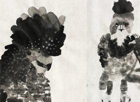 国画培优班-2019年9月7日 ◆秋季班/高峰店◆ 新起点画苑-学生作品