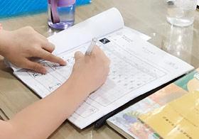 硬笔书法B班-2019年9月14日 ◆秋季班/高峰店◆ 新起点画苑-学生作品