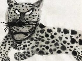 猎豹-国画培优班-2019年9月21日 ◆秋季班/高峰店◆ 新起点画苑-学生作品