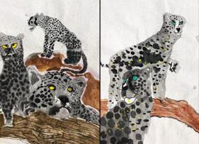 猎豹-国画培优班-2019年9月28日 ◆秋季班/高峰店◆ 新起点画苑-学生作品
