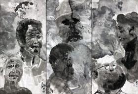 人物-国画培优班-2019年10月26日 ◆秋季班/高峰店◆ 新起点画苑-学生作品