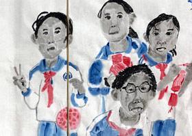 图片写生-国画大师班-2019年10月26日 ◆秋季班/高峰店◆ 新起点画苑-学生作品