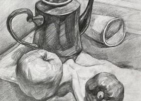 素描B班-2019年11月2日 ◆秋季班/高峰店◆ 新起点画苑-学生作品