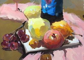 色彩班-2019年11月3日(下午) ◆秋季班/高峰店◆ 新起点画苑-学生作品