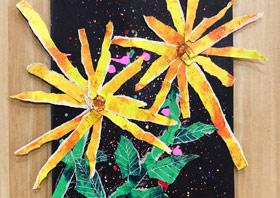 太阳花-儿童画启智班-2019年11月8日 ◆秋季班/高峰店◆ 新起点画苑-学生作品