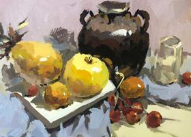 色彩班(上午)-2019年11月17日 ◆秋季班/高峰店◆ 新起点画苑-学生作品