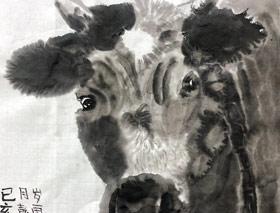 老牛-国画培优班-2019年11月30日 ◆秋季班/高峰店◆ 新起点画苑-学生作品