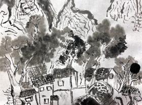 山水-国画大师班-2019年11月30日 ◆秋季班/高峰店◆ 新起点画苑-学生作品