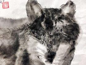 动物-国画培优班-2019年12月14日 ◆秋季班/高峰店◆ 新起点画苑-学生作品