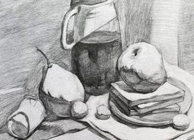 素描B班-2019年12月21日 ◆秋季班/高峰店◆ 新起点画苑-学生作品