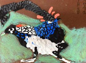 黏土锦鸡-儿童画大师B班-2020年1月4日 ◆秋季班/高峰店◆ 新起点画苑-学生作品