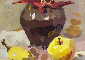 色彩班-2020年1月5日 ◆秋季班/高峰店◆ 新起点画苑-学生作品