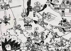 期末考试-儿童画大师A班-2020年1月10日 ◆秋季班/高峰店◆ 新起点画苑-学生作品
