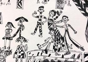 期末考试-儿童画大师B班-2020年1月11日 ◆秋季班/高峰店◆ 新起点画苑-学生作品