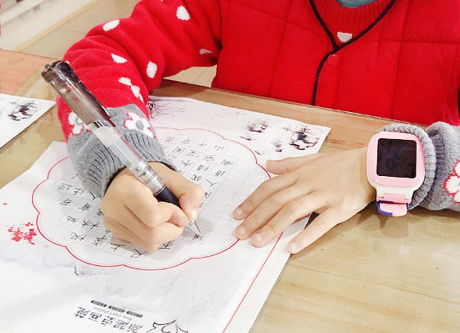 硬笔书法C班-2020年1月12日 ◆秋季班/高峰店◆ 新起点画苑-学生作品