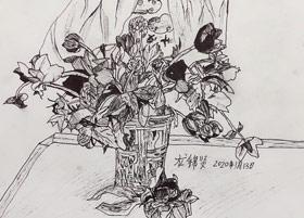 速写/儿童画B班-2020年1月13日 ★寒假班/考级培训★ 新起点画苑-学生作品