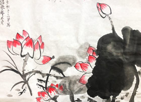 国画A班-2020年1月15日 ★寒假班/考级培训★ 新起点画苑-学生作品