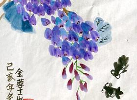 国画B班-2020年1月16日 ★寒假班/考级培训★ 新起点画苑-学生作品