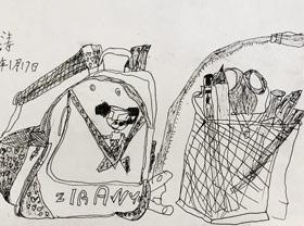 速写/儿童画A班-2020年1月17日 ★寒假班/考级培训★ 新起点画苑-学生作品