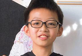 刘东晓同学/五年级/2019年个