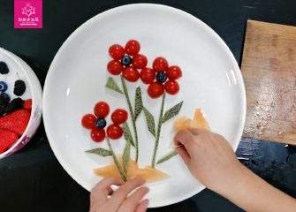 第六节:有趣的拼盘(儿童画教程)-新起点画苑/2020年3月28日