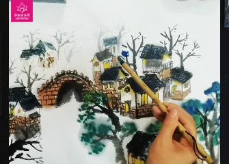第十节:江南(国画教程)-新