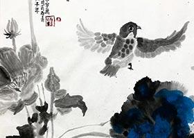 花鸟-国画大师班-2020年6月6日◆春季班◆新起点画苑-学生作品