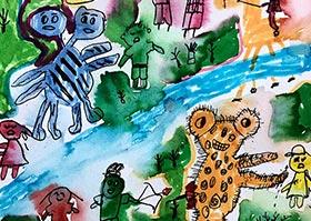 魔幻森林救援-儿童画基础A班2020年6月12日◆春季班◆新起点画苑-学生作品