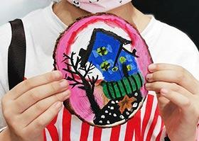 圆木动物画-儿童画大师B班-2020年6月20日◆春季班◆新起点画苑-学生作品